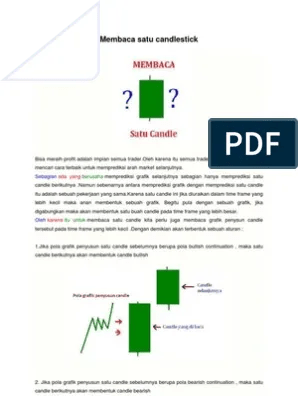 Cara Membaca Candlestick Pdf : membaca, candlestick, Teknik, Membaca, Candlestick
