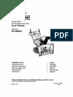 Toro Wheel Horse 264-H owners manual