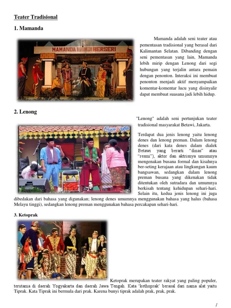 Teater Tradisional Jawa Tengah : teater, tradisional, tengah, Fantastis, Gambar, Ketoprak, Banget