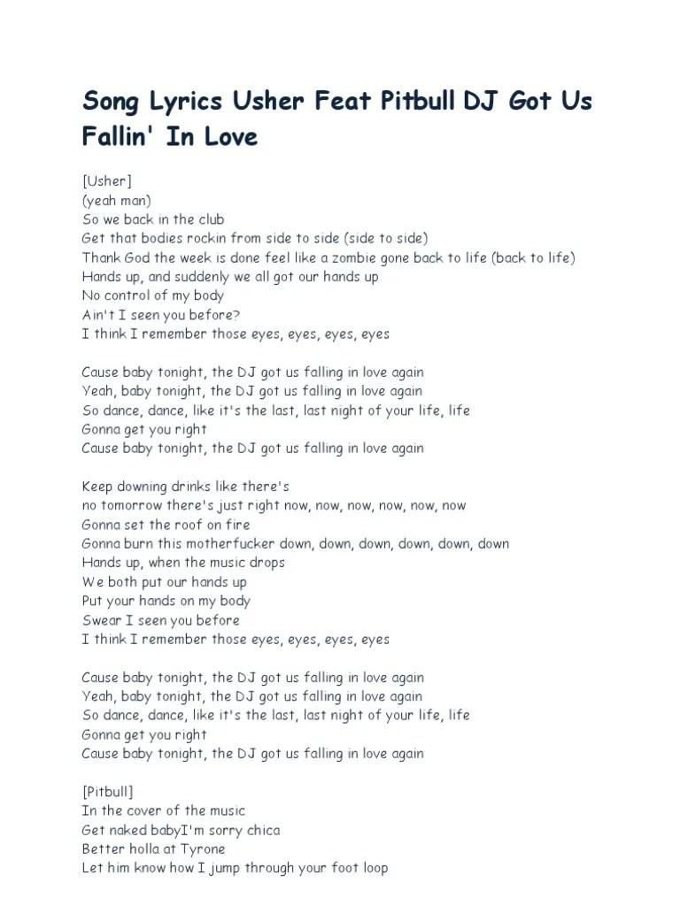 Pussycat Dolls - Hands On Body Lyrics