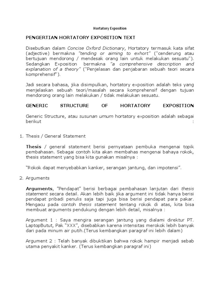 Hortatory Exposition Adalah : hortatory, exposition, adalah, Hortatory, Exposition, Retorika, Membaca, (Proses)