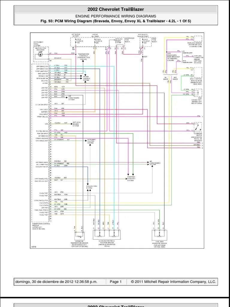 hight resolution of trialblazer2002 chevy trailblazer pcm wiring 19