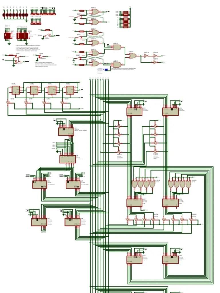 sap 1 simple as possible computer schematic diagram electronic sap 1 architecture circuit diagram sap 1 circuit diagram [ 768 x 1024 Pixel ]
