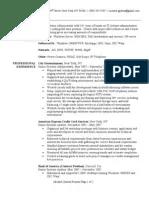 System Administrator Resume Sample V Mware Active Directory
