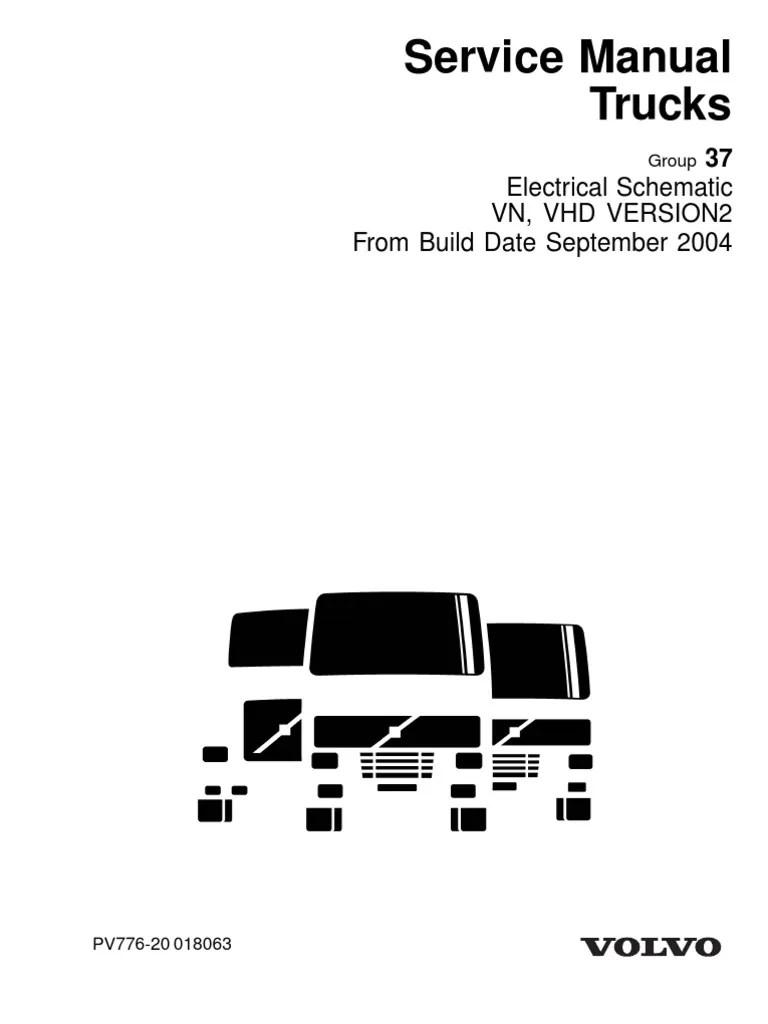 volvo vnl diagramas electricos completos pdf truck transmission mechanics  [ 768 x 1024 Pixel ]