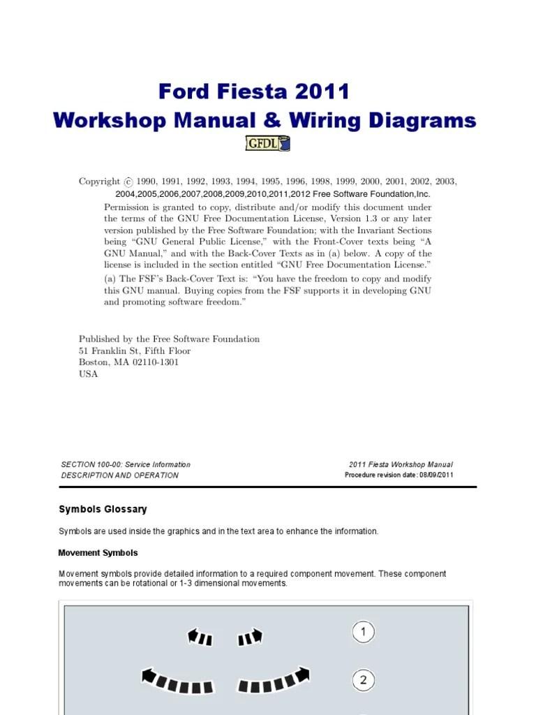 ford fiesta workshop manual 2011 automatic generator start wiring diagrams 2011 ford fiesta wiring diagram [ 768 x 1024 Pixel ]