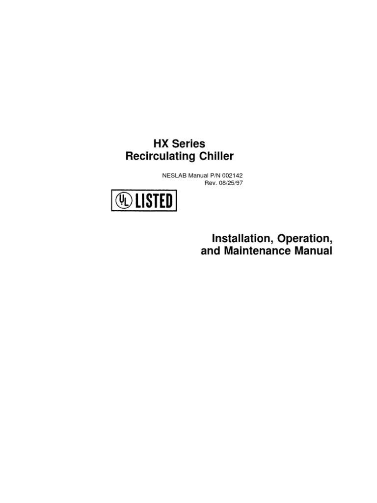 medium resolution of hx chiller wiring diagram