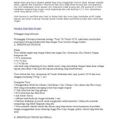 Merk Baja Ringan Anti Karat Spesifikasi