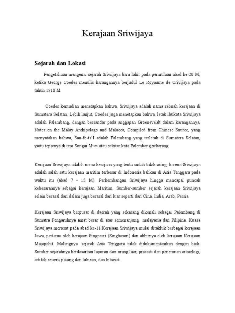 Kerajaan Sriwijaya Disebut Kerajaan Maritim : kerajaan, sriwijaya, disebut, maritim, Mengapa, Kerajaan, Sriwijaya, Disebut, Dengan, Maritim, Sebutkan
