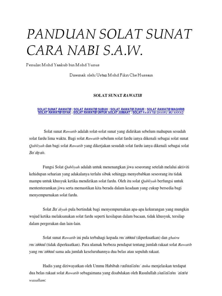 Shalat Sunnah Rawatib: Bacaan Niat, Waktu... - Tirto.ID