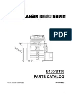 Manual de Partes Aficio MP4000-5000