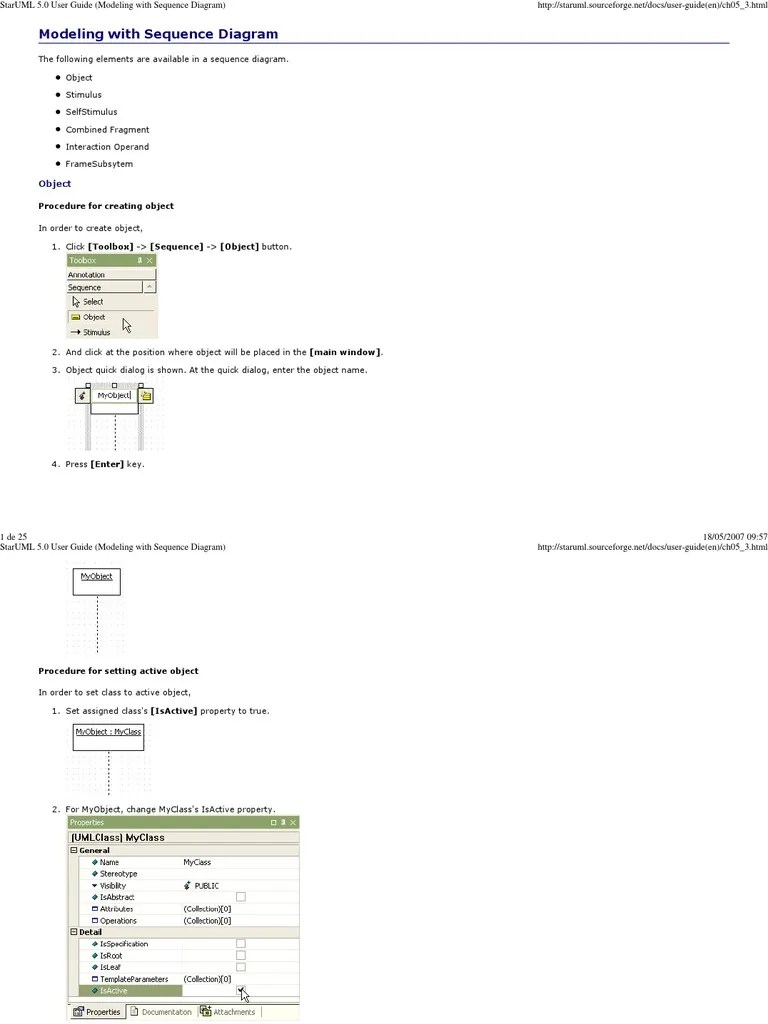chapter 5 staruml 5 0 user guide modeling with sequence diagram button computing double click [ 768 x 1024 Pixel ]