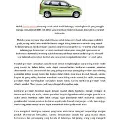 Suspensi Grand New Avanza Keras All 2019 Cara Aman Mengatasi Kelemahan Mobil 1549383650 V 1