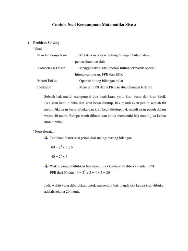Soal pts uts tema 1 kelas 5 semester 1 k13 tahun 20192020 khanza aulia. Contoh Rubrik Jawaban Soal Essay - Ilmu Soal