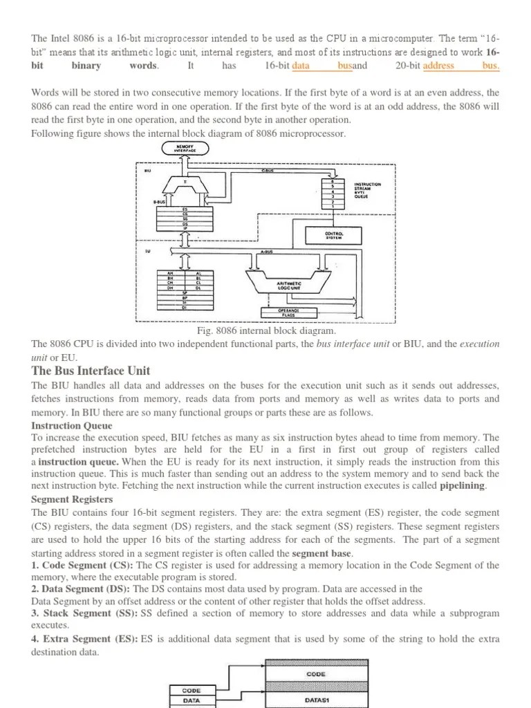 block diagram 8086 [ 768 x 1024 Pixel ]