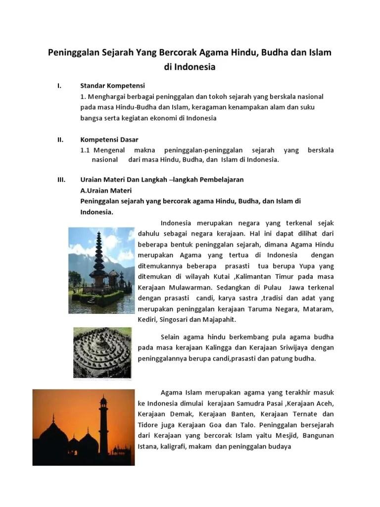 Peninggalan Kerajaan Banten Beserta Gambarnya : peninggalan, kerajaan, banten, beserta, gambarnya, Peninggalan, Sejarah, Bercorak, Hindu, Budha, Islam, Seputar