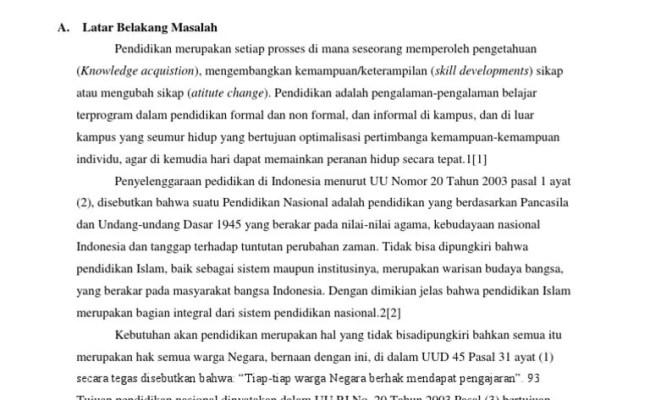 Contoh Skripsi Pai Kualitatif Cuitan Dokter