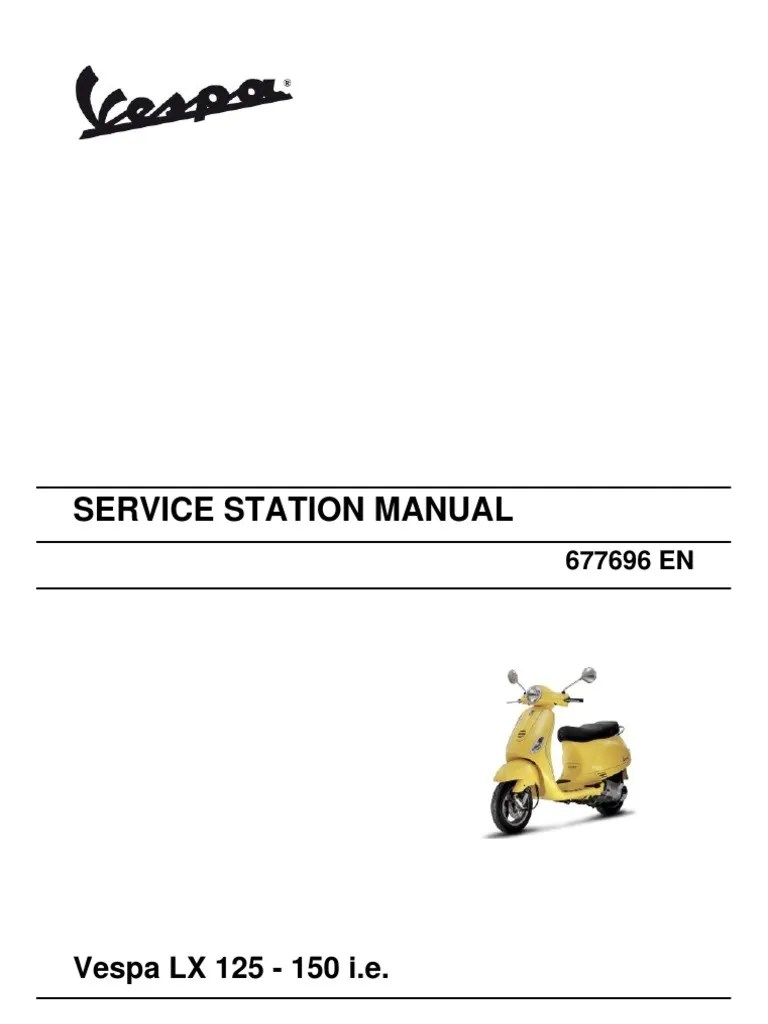 medium resolution of vespa lx 125 150 i e en motor oil transmission mechanics