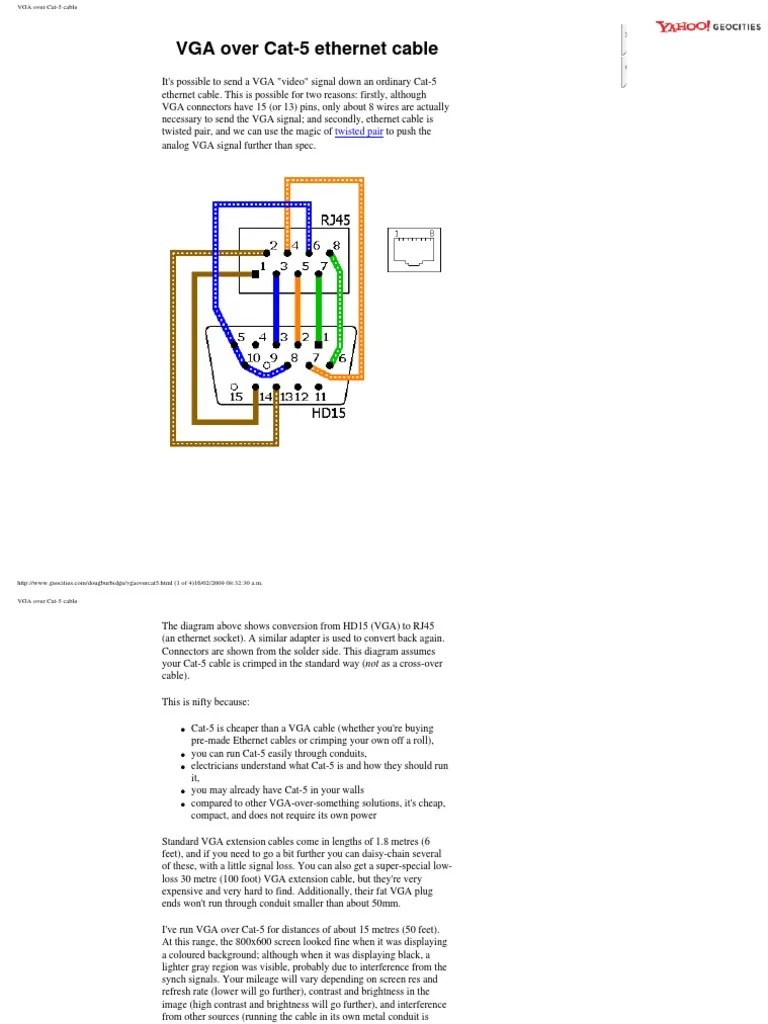 cat 5 wiring diagram for daisy chain [ 768 x 1024 Pixel ]