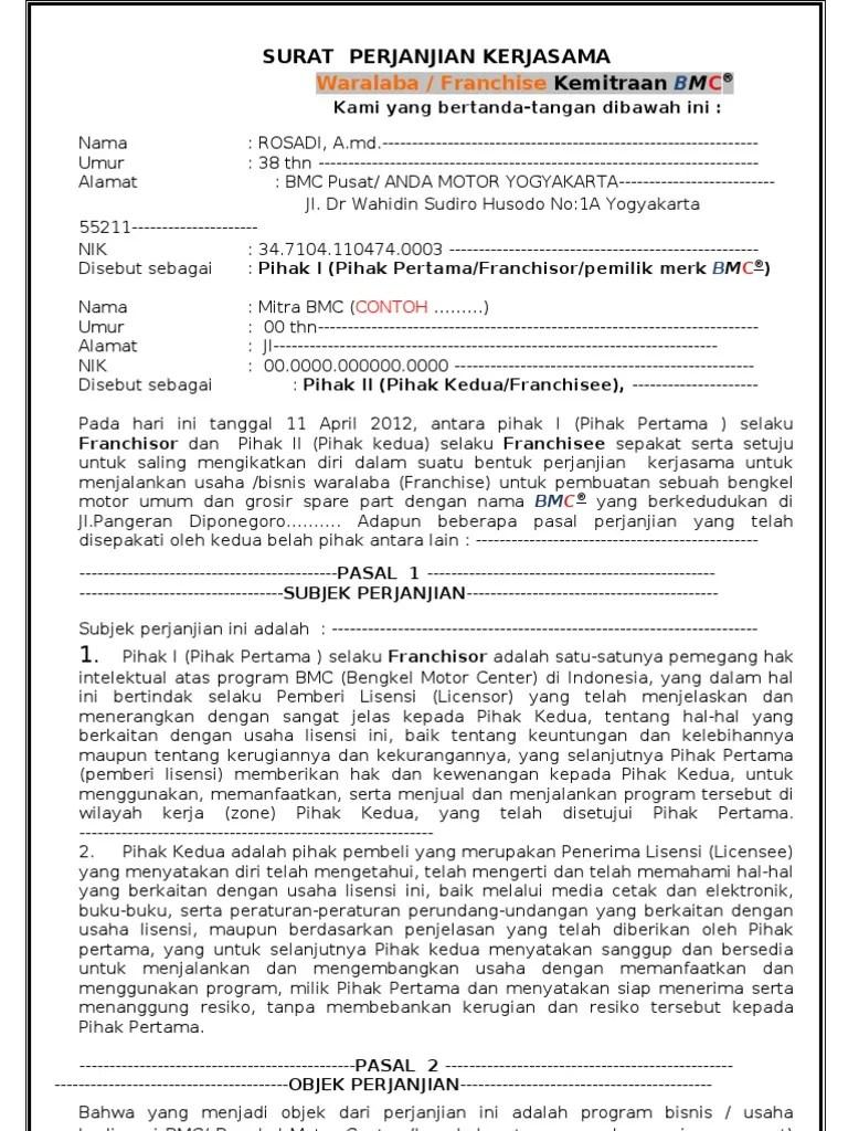 Contoh Surat Perjanjian Kerjasama Kemitraan Usaha : contoh, surat, perjanjian, kerjasama, kemitraan, usaha, Contoh, Surat, Perjanjian, Kerjasama, Angkutan, Kumpulan, Penting, Cute766