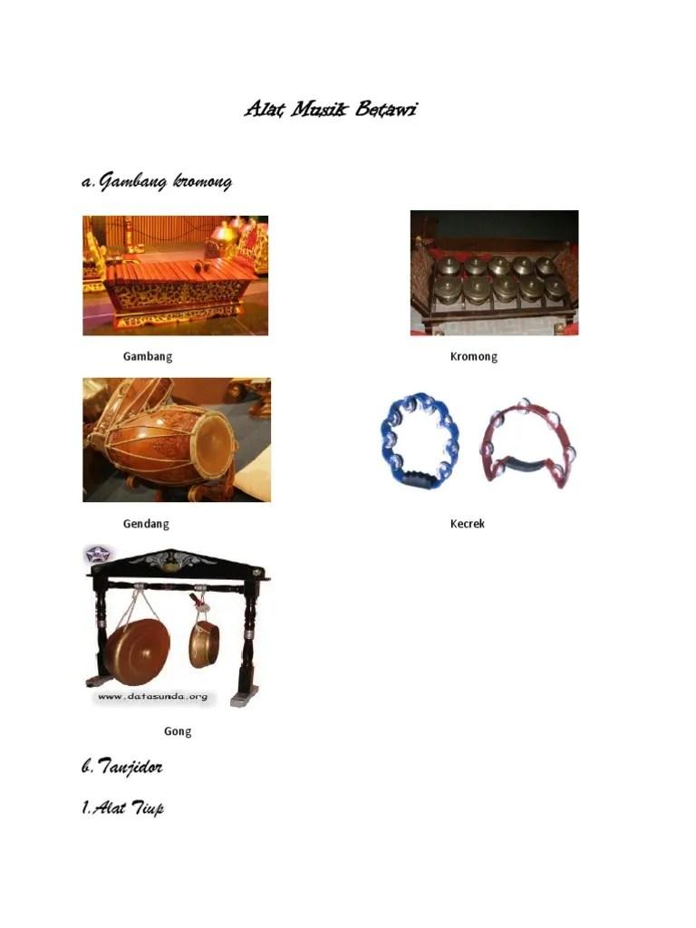 Gambar Alat Musik Gambang Kromong : gambar, musik, gambang, kromong, Musik, Betawi