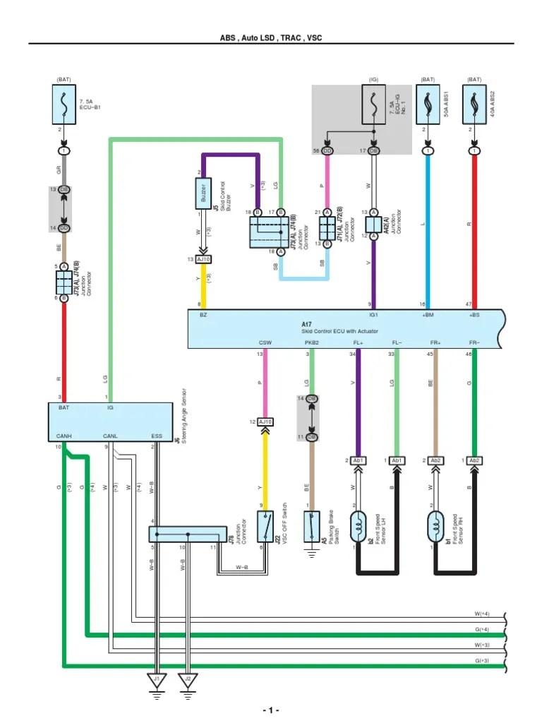 2007 2010 toyota tundra electrical wiring diagrams anti lock braking system air conditioning [ 768 x 1024 Pixel ]