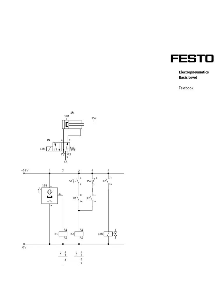 hight resolution of  festo electropneumatics basic level capacitor relay