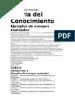EJEMPLOS DE ENSAYOS