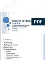 diseases of periradicular tissues