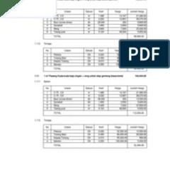 Koefisien Reng Baja Ringan Analisa C 75 0 45 3