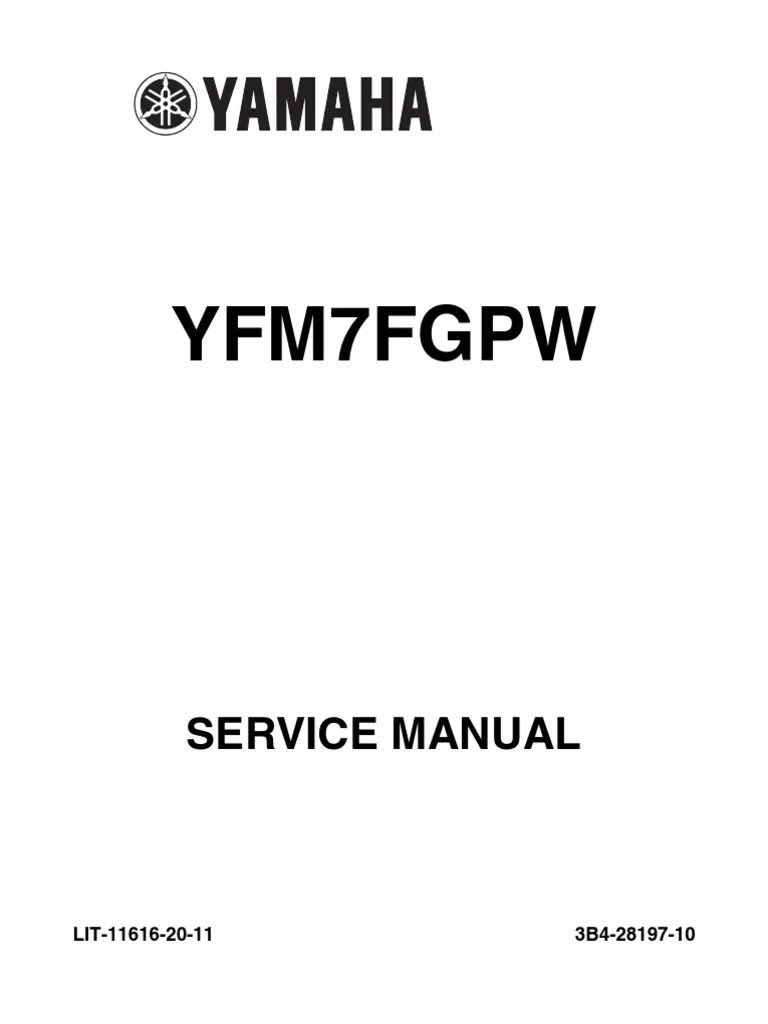 medium resolution of  yamaha 07 08 grizzly 700 service manual throttle fuel injection yamaha rhino wiring schematic on