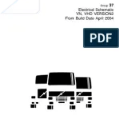 Sterling Truck Wiring Diagrams Pollak Rv Plug Diagram Data Link Fault Tracing Electrical Connector Volvo 2004