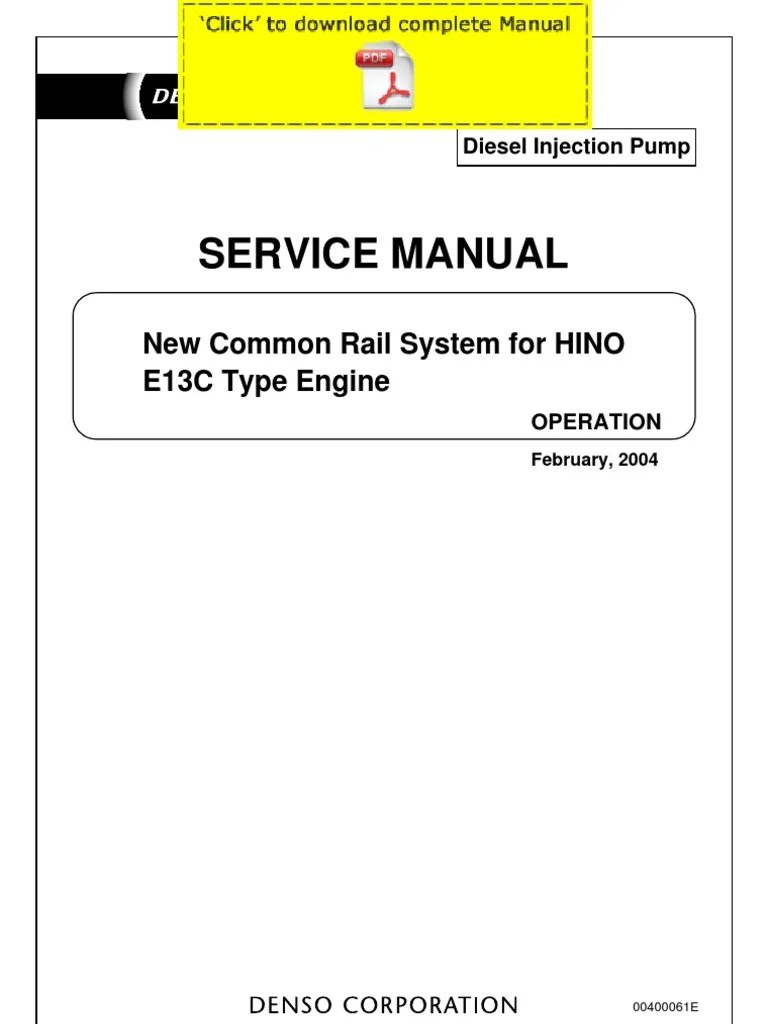 medium resolution of 2007 hino engine diagram trusted wiring diagram u2022 diesel injection pumps denso injection pump diagram