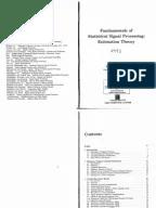 Steven M. Kay-Fundamentals of Statistical Signal