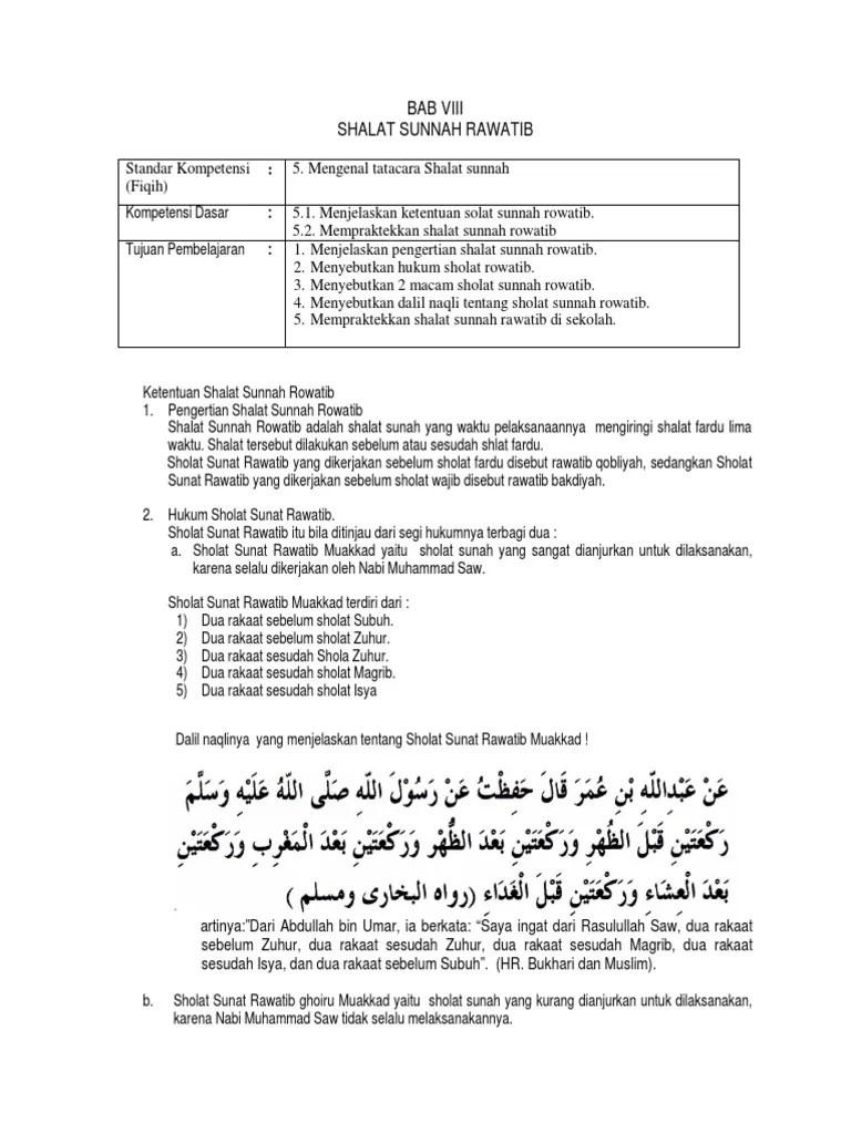 Apa Itu Sholat Rawatib : sholat, rawatib, Shalat-sunat-rawatib
