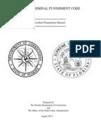 Florida Sentencing: Criminal Punishment Code Scoresheet
