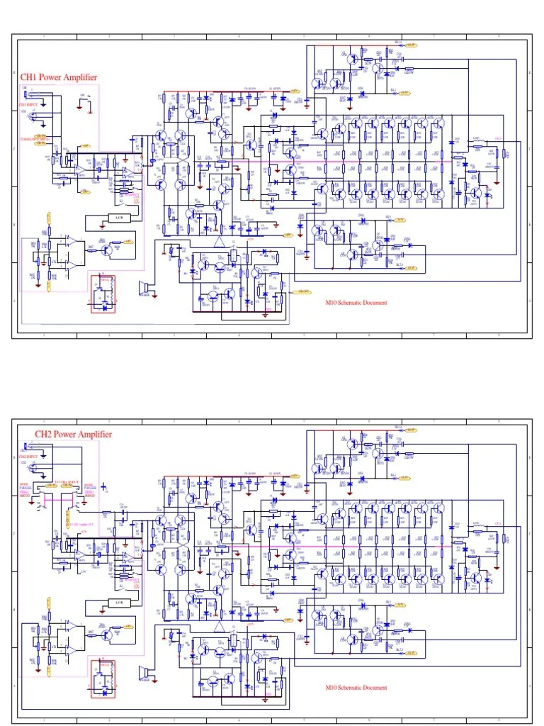 small resolution of crown amp schematic