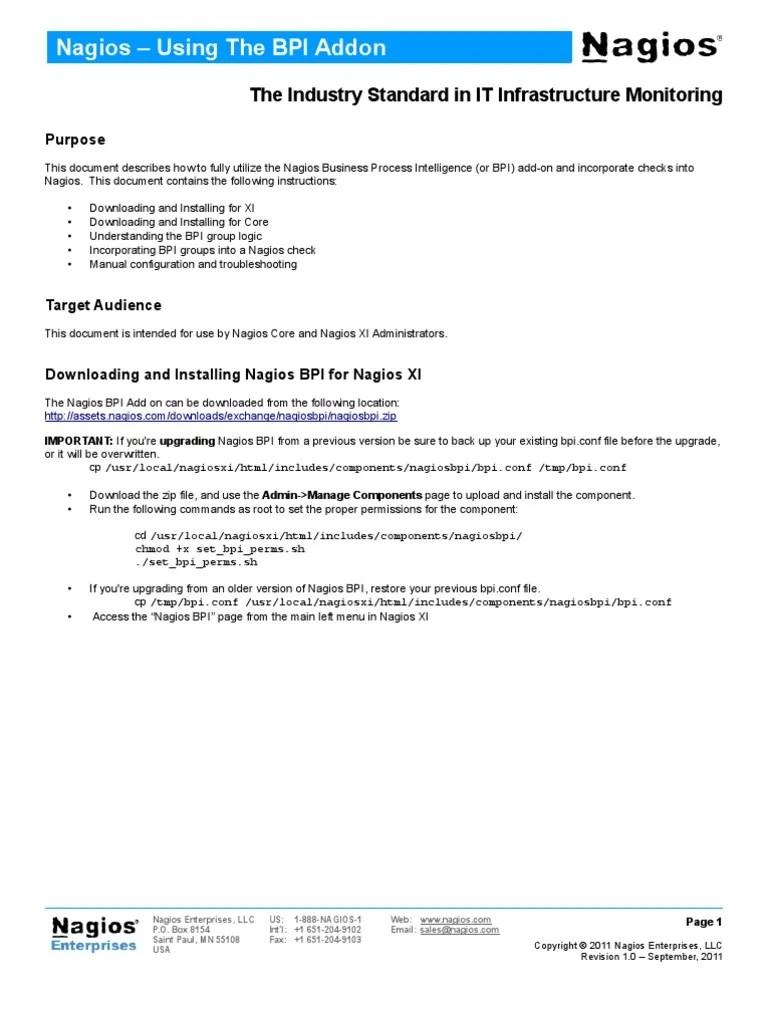 medium resolution of nagio xi architecture diagram