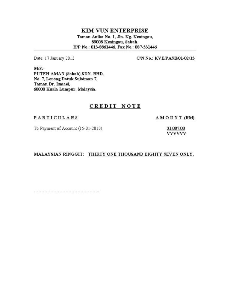 Fungsi Nota Kredit & Nota Debit dalam Administrasi Faktur