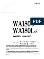 Komatsu SAA6D114E-3 Engine 114E-3 Series Shop Manual