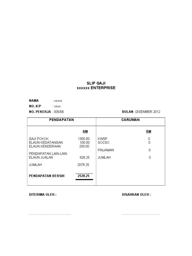 Download Slip Gaji Excel Otomatis : download, excel, otomatis, Contoh, Accounting, Cute766