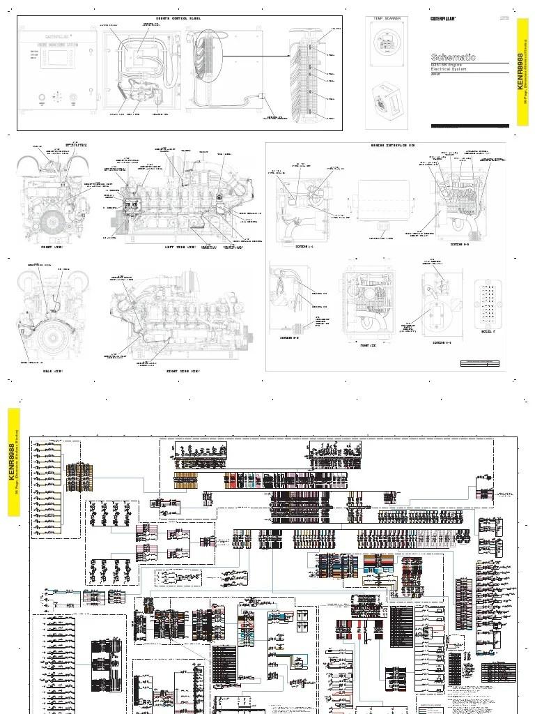 Caterpillar Natural Gas Engine Turbocharger Cat 3600 Diagram