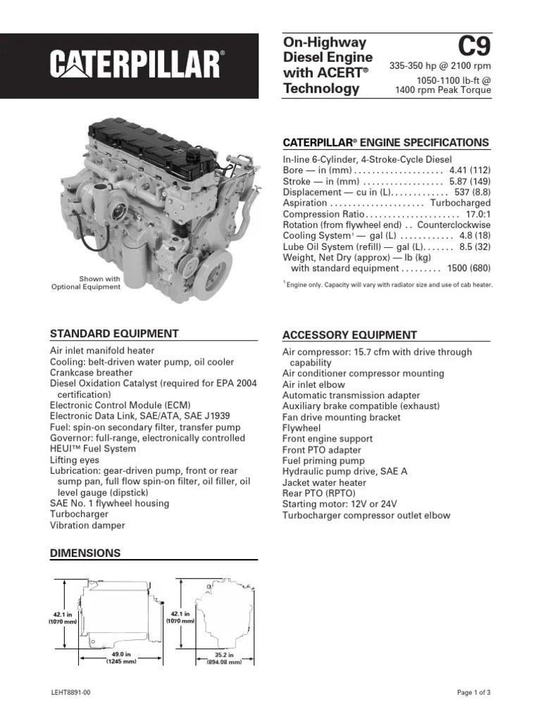 small resolution of c7 cat engine breakdown diagram