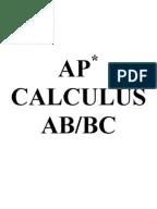 AP Calculus BC Released Exam 2008 Multiple-Choice