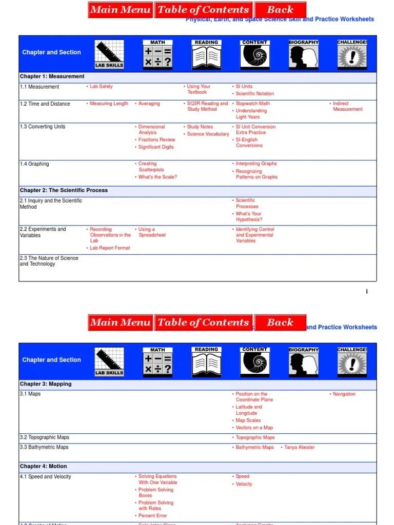 CPO HSPS Worksheets   Momentum   Physics [ 1024 x 768 Pixel ]