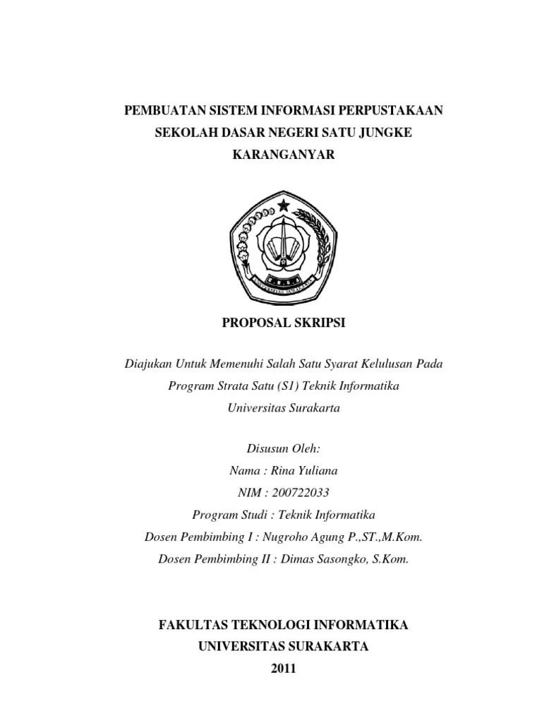 Contoh Proposal Sistem Informasi : contoh, proposal, sistem, informasi, Proposal, Skripsi, Pembuatan, Sistem, Informasi, Perpustakaan, Sekolah