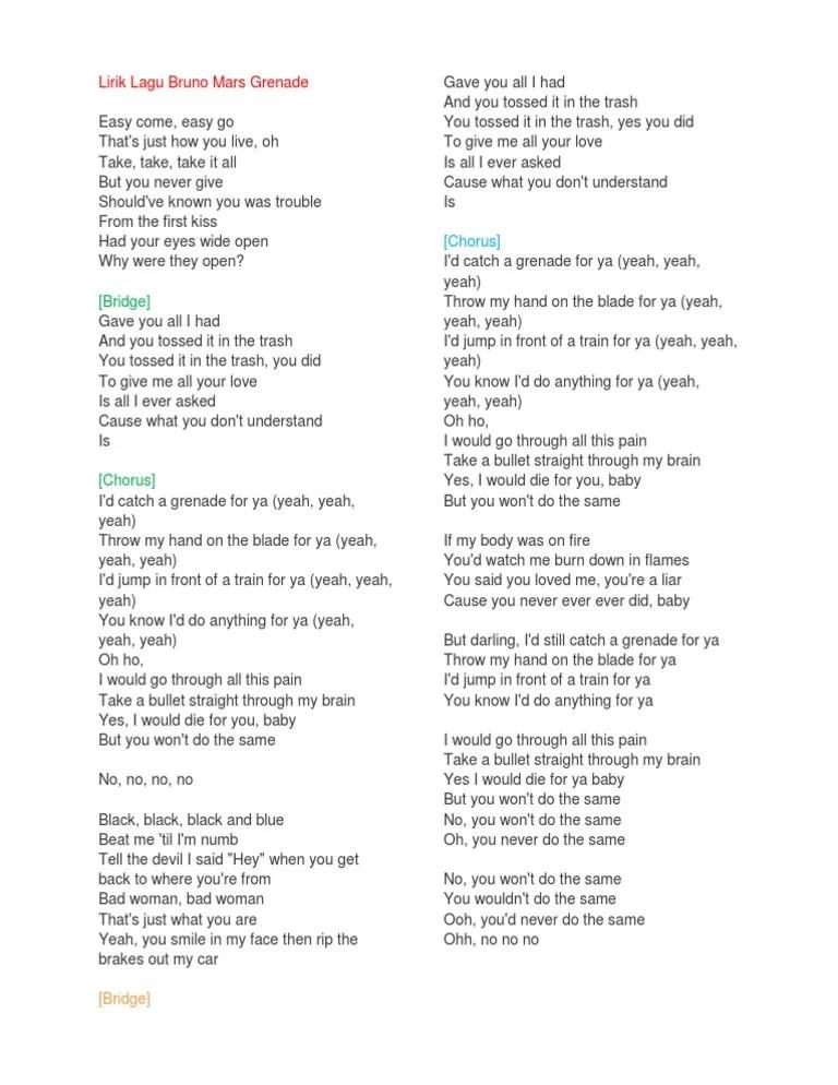 Download Lagu I Still Love You : download, still, Download, Bruno, Lirik