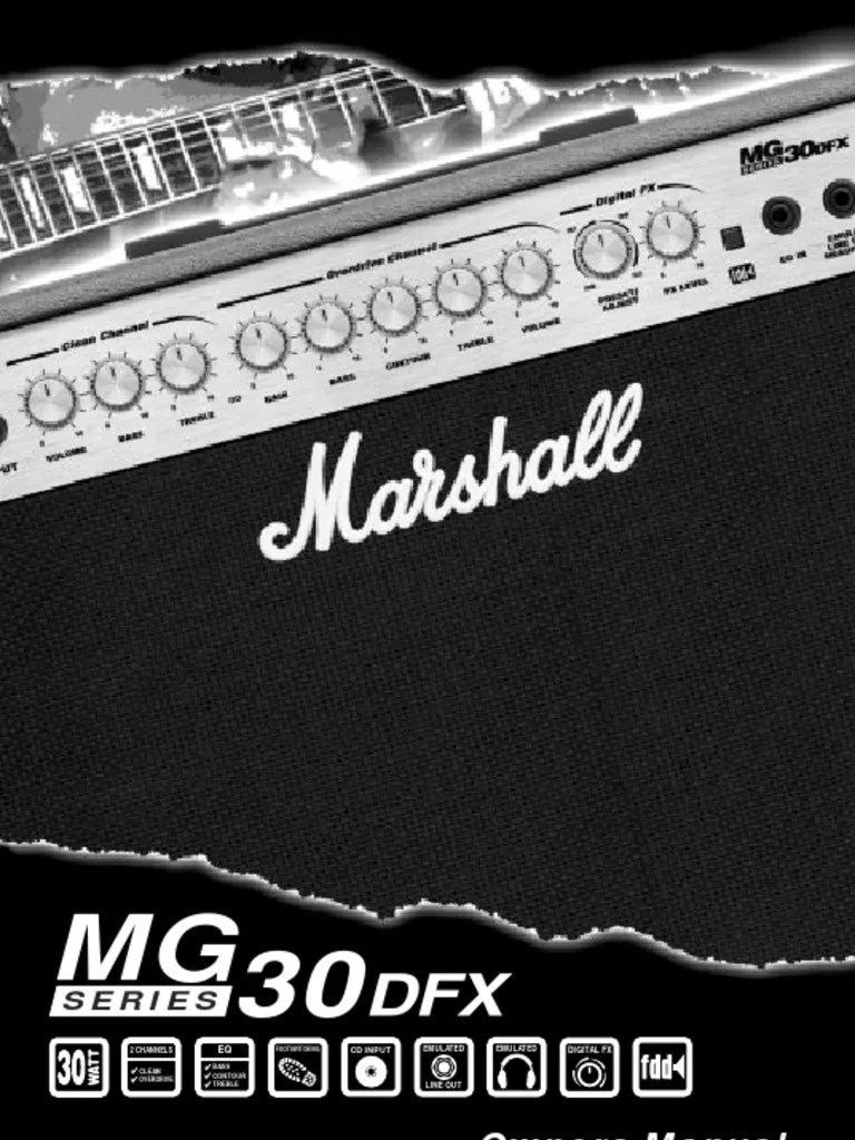 hight resolution of marshall mg30dfx wiring diagram