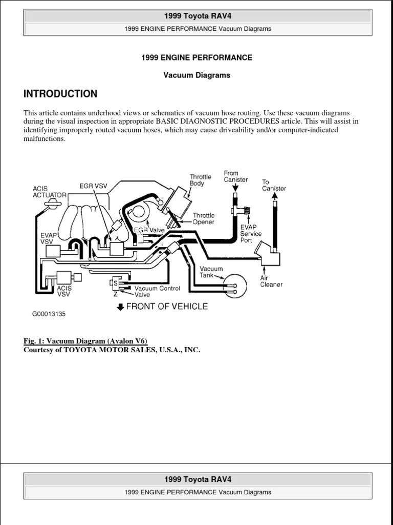 medium resolution of 1999 rav4 engine diagram