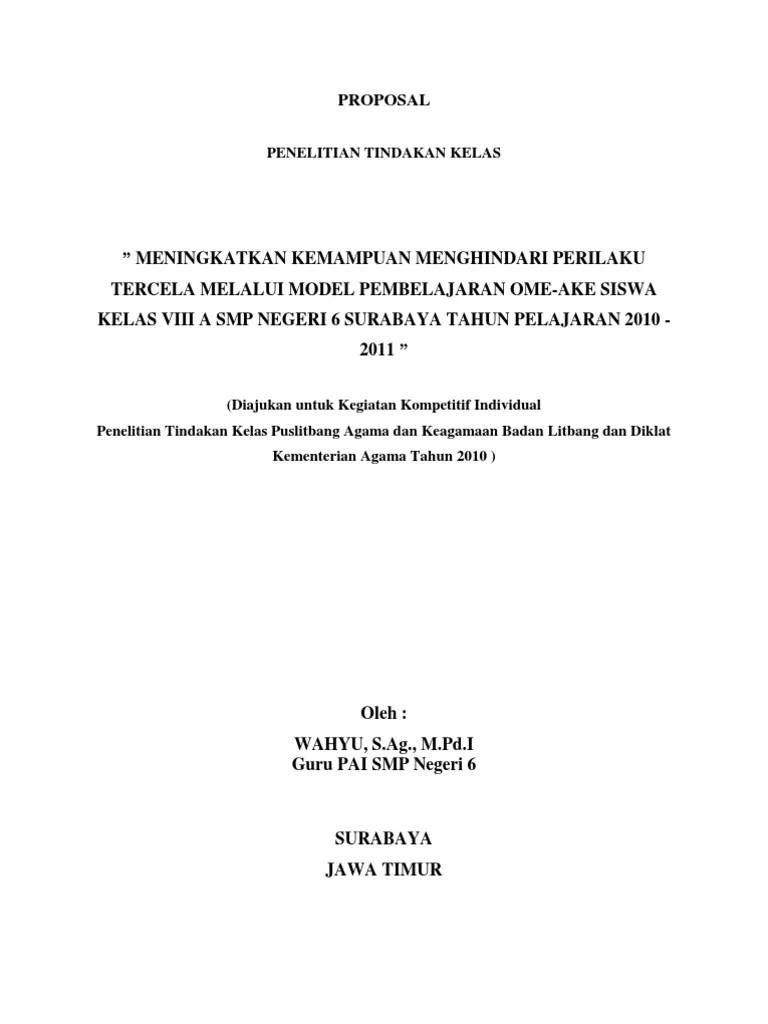 Ptk Ips Smp : Proposal